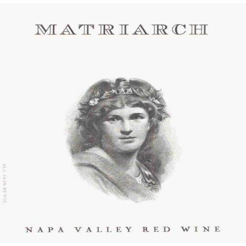Bond Matriarch 2010 Front Label