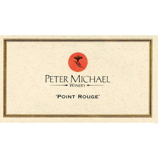 Peter Michael Point Rouge Chardonnay 2012 Front Label