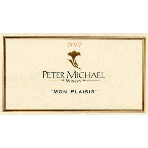 Peter Michael Mon Plaisir Chardonnay 2012 Front Label
