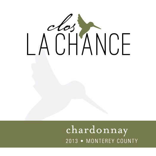 Clos LaChance Monterey County Chardonnay 2013 Front Label