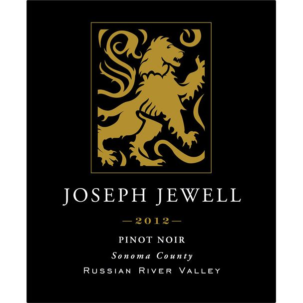 Joseph Jewell Russian River Valley Pinot Noir 2012 Front Label