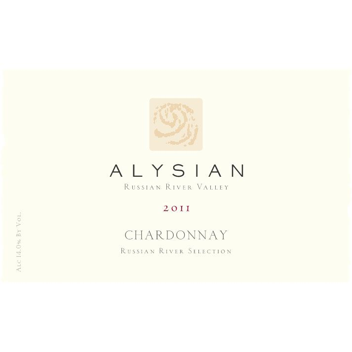 Alysian Russian River Selection Chardonnay 2011 Front Label