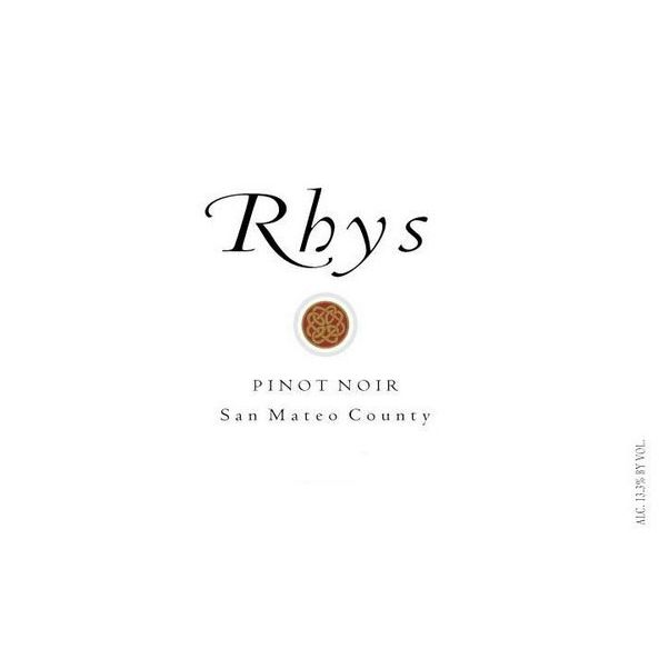 Rhys Vineyards San Mateo County Pinot Noir 2012 Front Label