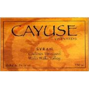 Cayuse Cailloux Syrah 2007 Front Label