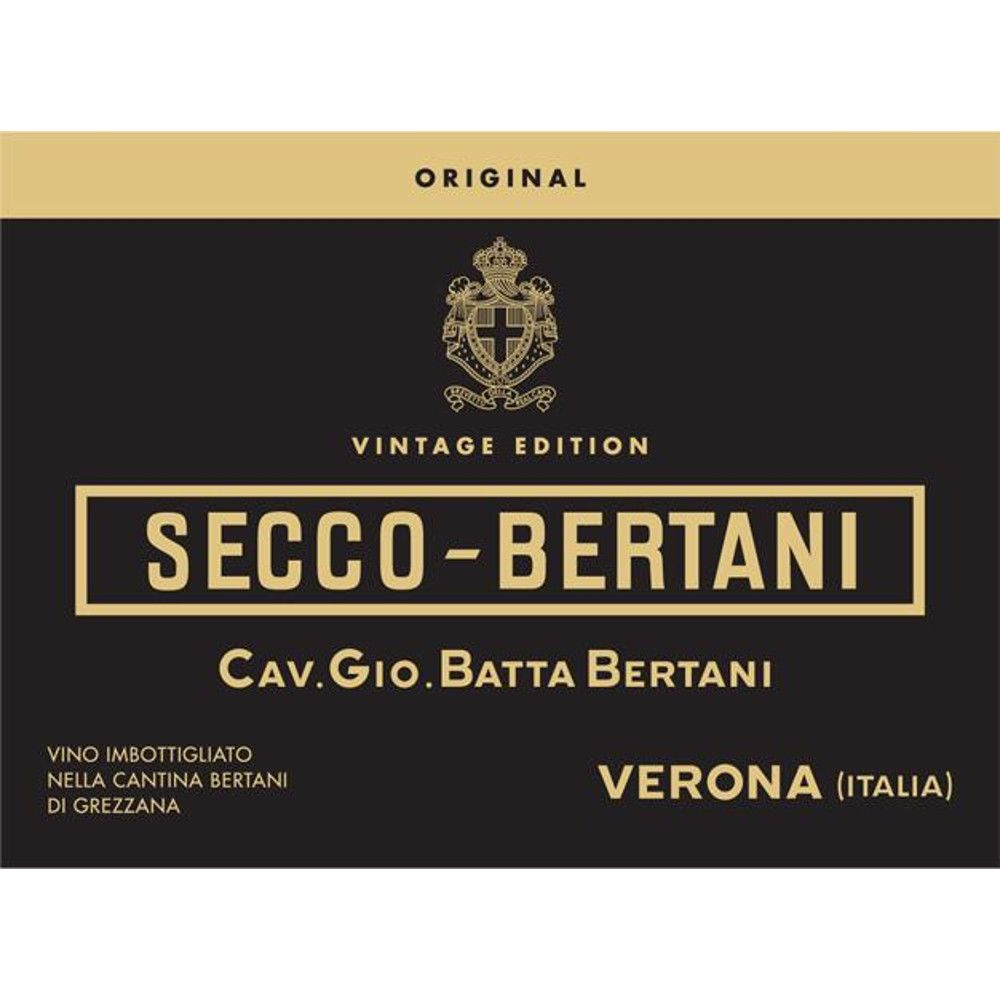Bertani Secco-Bertani Original Vintage Edition 2010 Front Label