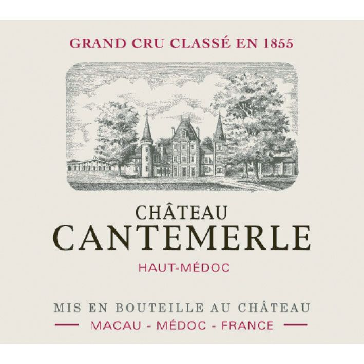 Chateau Cantemerle  2009 Front Label