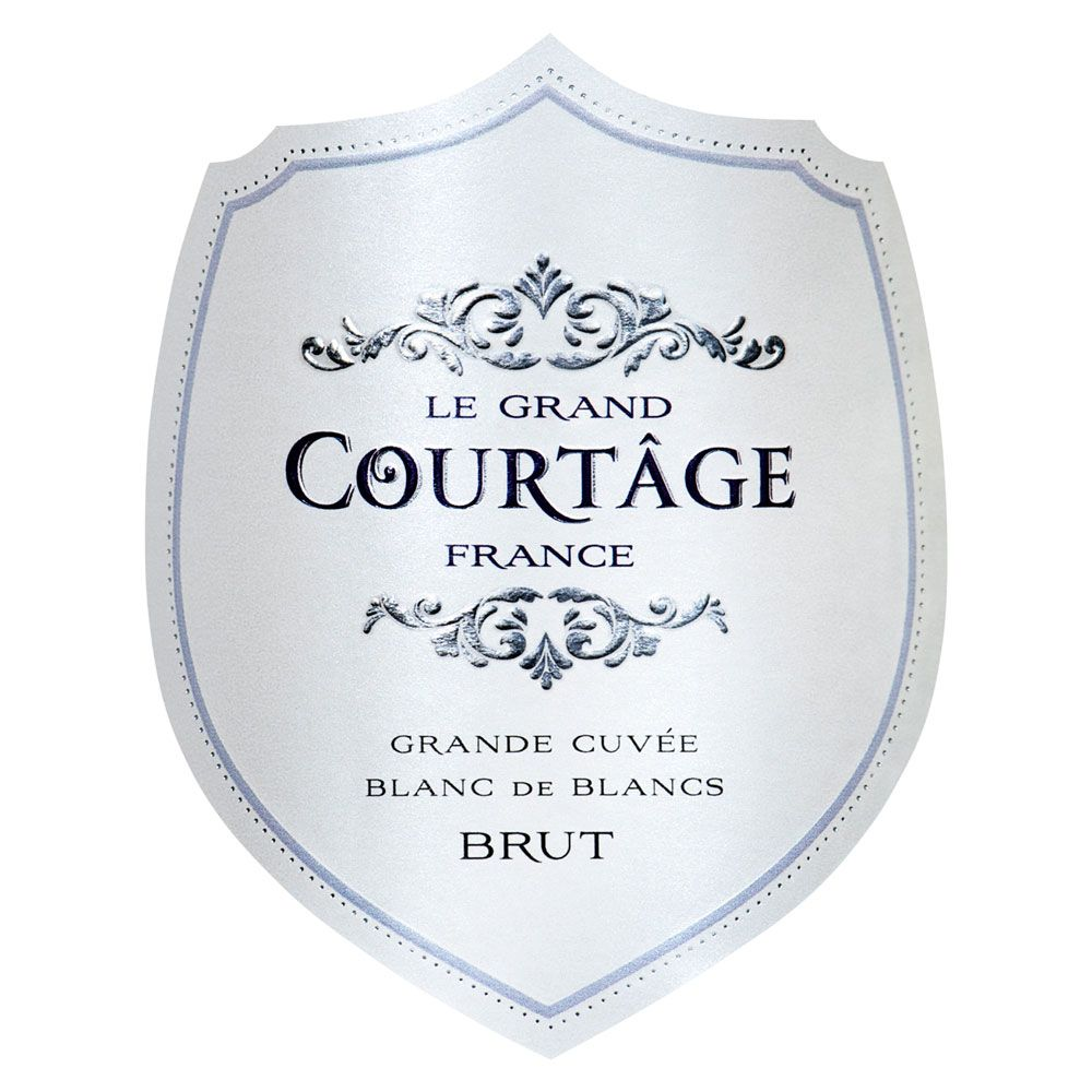 Le Grand Courtage Blanc de Blancs Brut Front Label