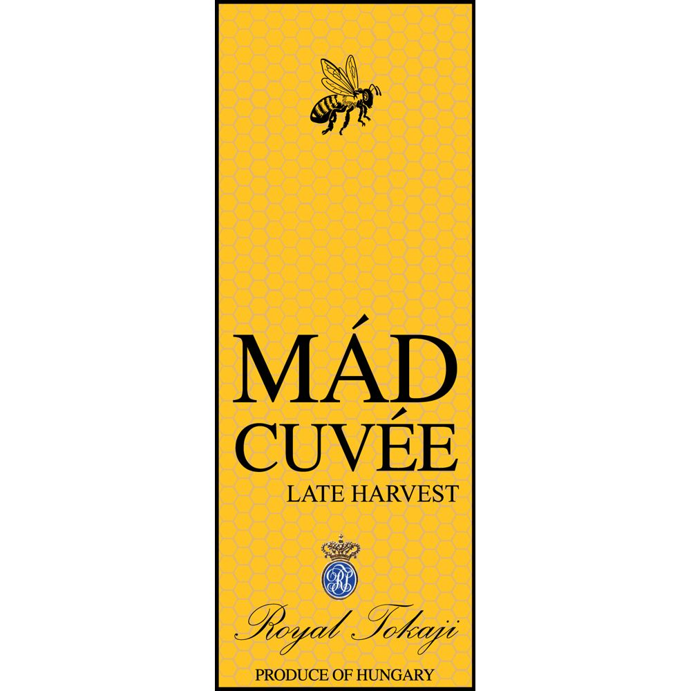 Royal Tokaji Mad Cuvee (375ML half-bottle) 2012 Front Label
