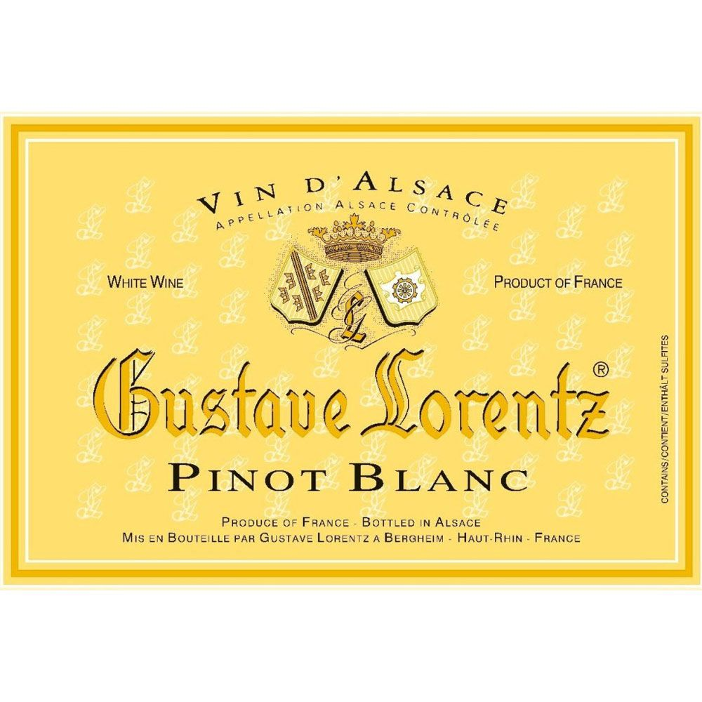 Gustave Lorentz Reserve Pinot Blanc 2013 Front Label