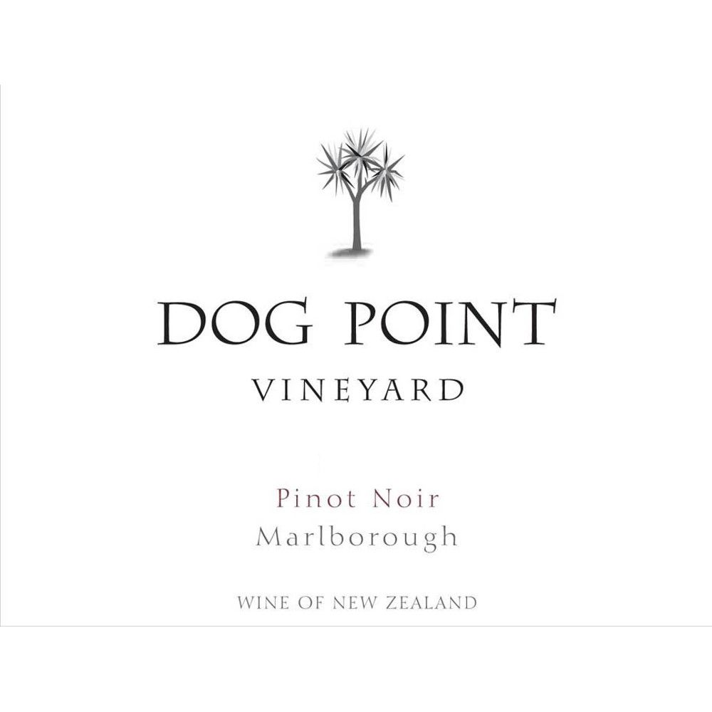Dog Point Vineyard Pinot Noir 2012 Front Label