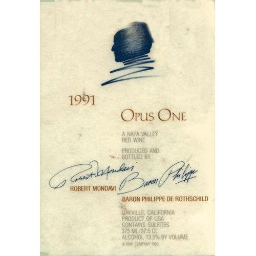 Opus One (6 Liter Bottle) 1996 Front Label
