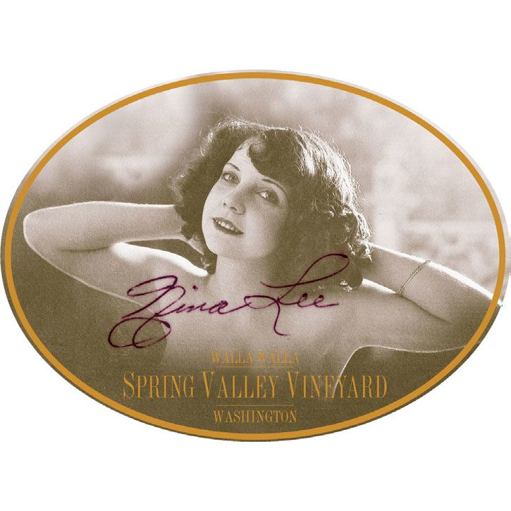 Spring Valley Nina Lee Syrah 2011 Front Label