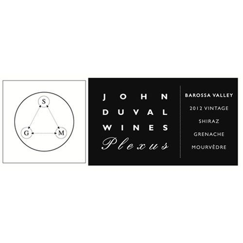 John Duval Plexus Red 2012 Front Label