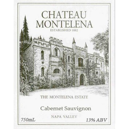 Chateau Montelena Estate Cabernet Sauvignon (6 Liter Bottle - Etched) 2002 Front Label