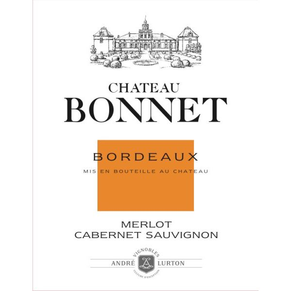 Chateau Bonnet Rouge 2011 Front Label
