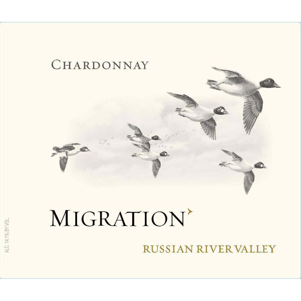 Migration Russian River Chardonnay 2013 Front Label