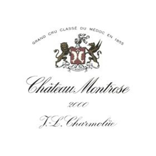 Chateau Montrose (3 Liter Bottle) 2000 Front Label