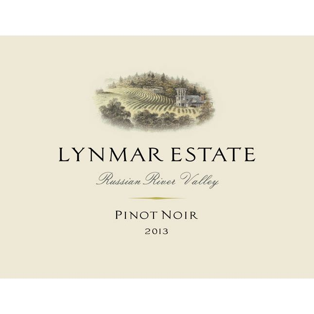 Lynmar Winery Russian River Pinot Noir 2013 Front Label