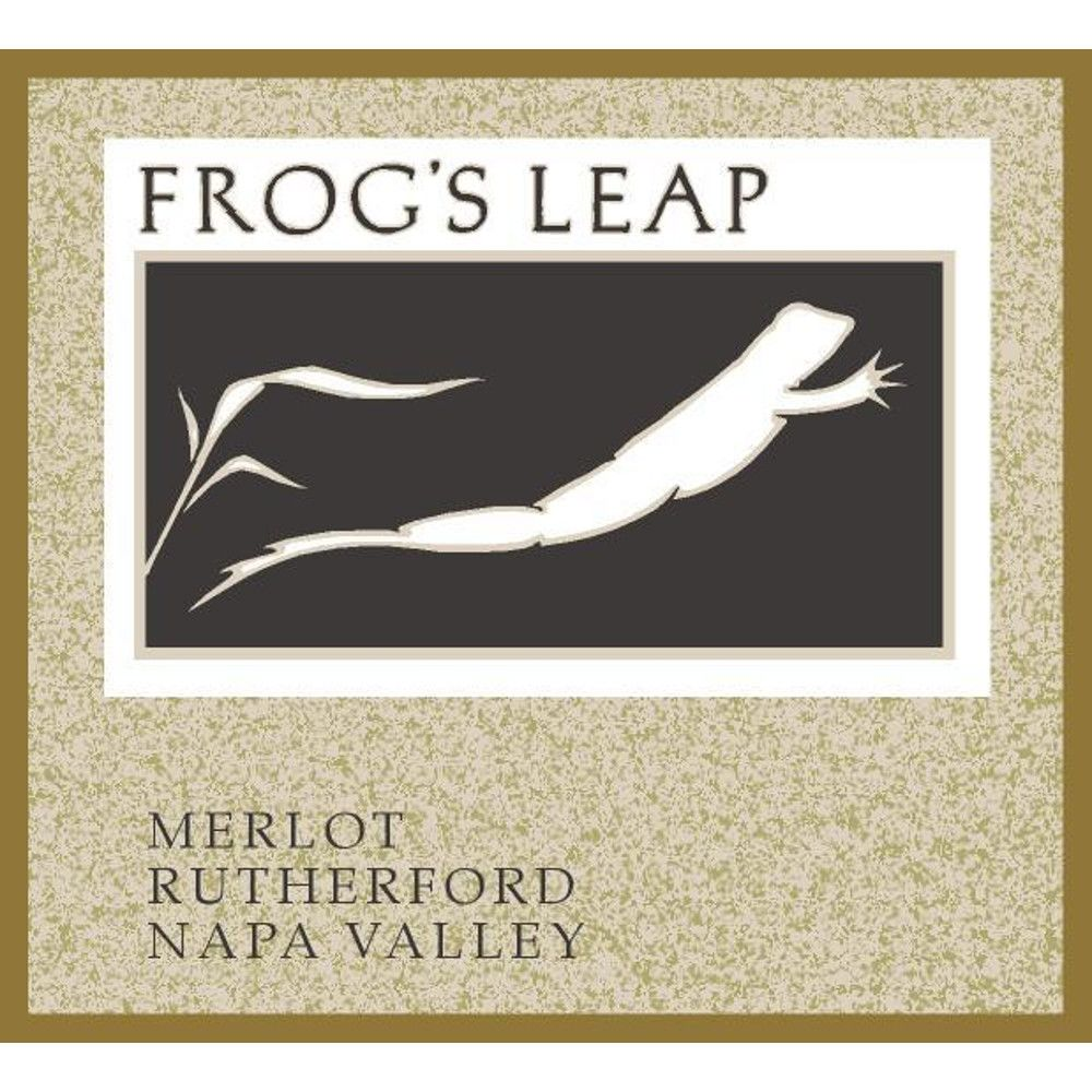 Frog's Leap Merlot (375ML half-bottle) 2011 Front Label