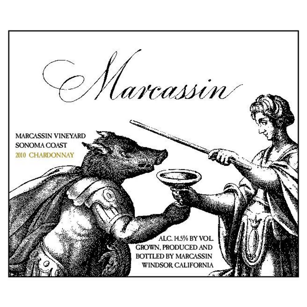 Marcassin Marcassin Vineyard Chardonnay 2010 Front Label