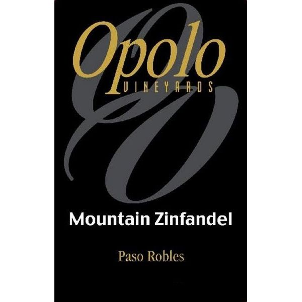 Opolo Mountain Zinfandel 2013 Front Label