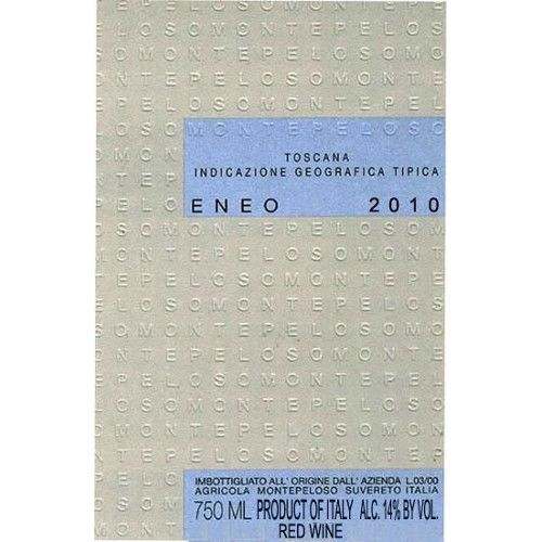 Montepeloso Eneo 2010 Front Label