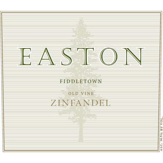 Easton Fiddletown Rinaldi Vineyard Zinfandel 2010 Front Label