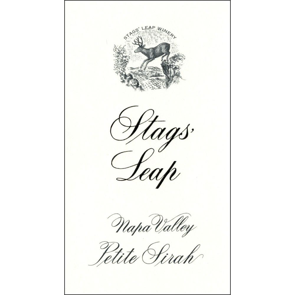Stags' Leap Winery Petite Sirah 2012 Front Label