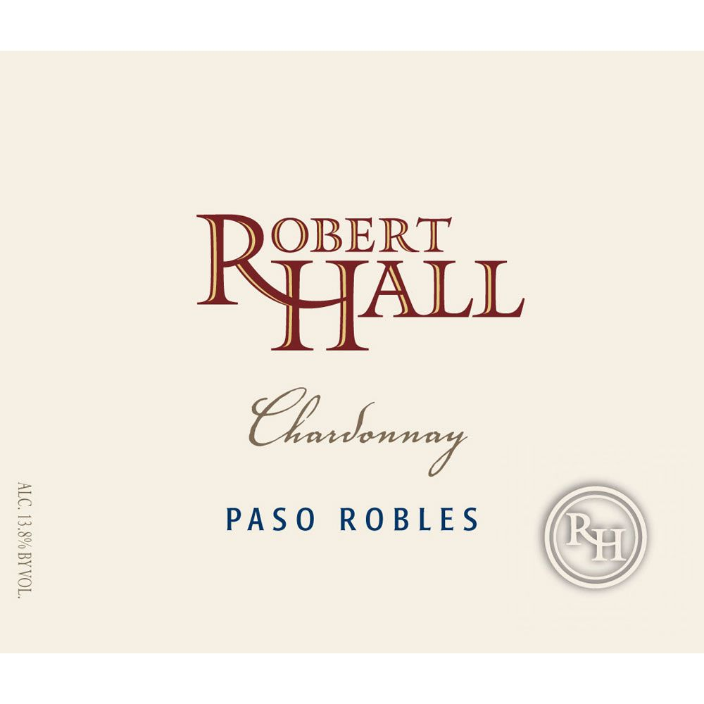 Robert Hall Chardonnay 2013 Front Label
