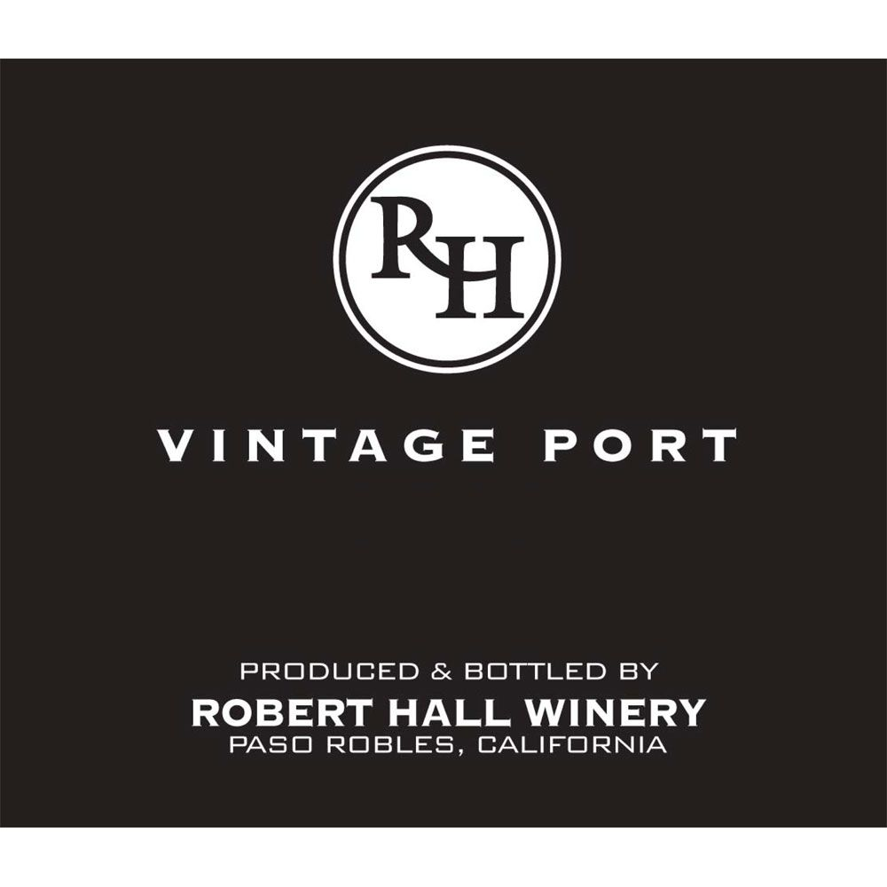 Robert Hall Vintage Port 2012 Front Label