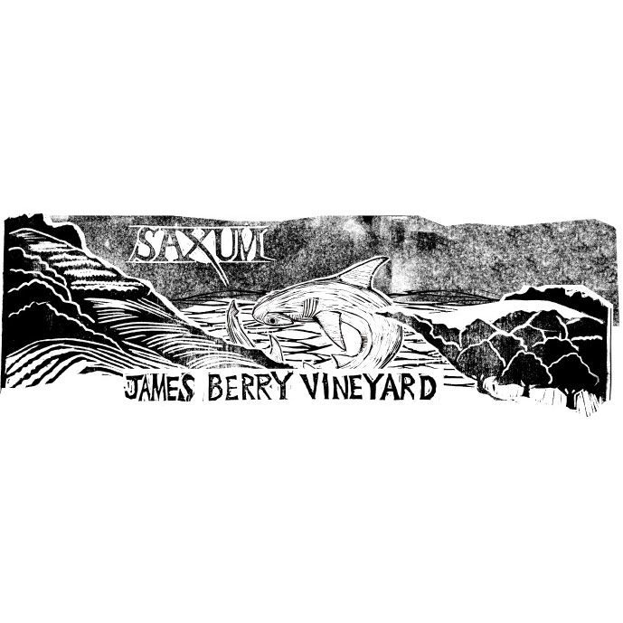 Saxum James Berry Vineyard 2012 Front Label