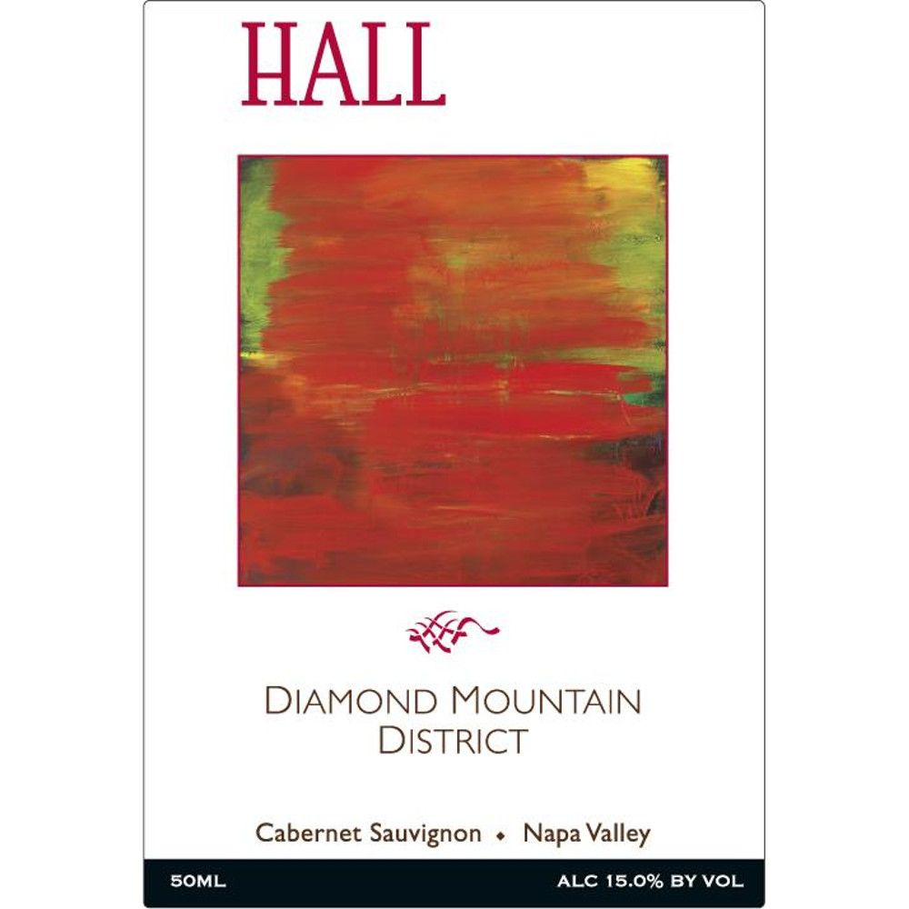Hall Diamond Mountain District Cabernet Sauvignon 2011 Front Label