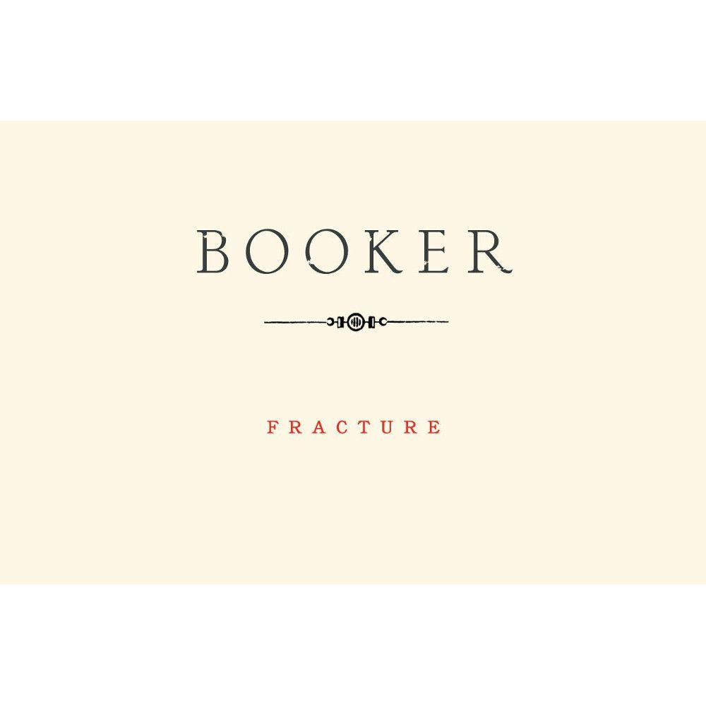 Booker Vineyard Fracture Syrah 2012 Front Label