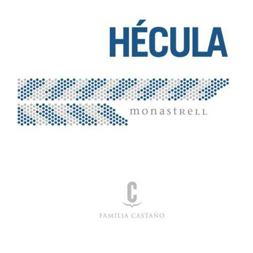 Bodegas Castano Hecula 2012 Front Label