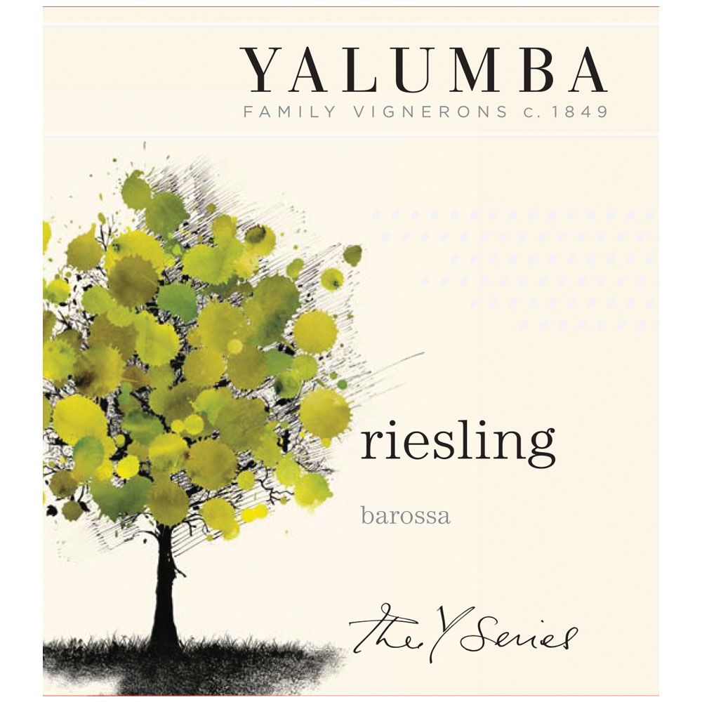 Yalumba Y Series Riesling 2014 Front Label