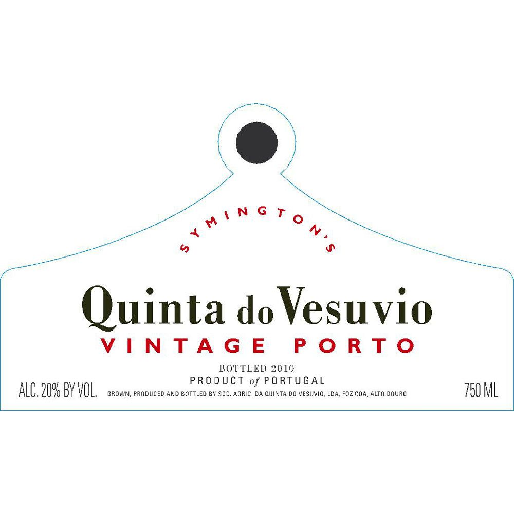 Quinta do Vesuvio Vintage Port 2012 Front Label