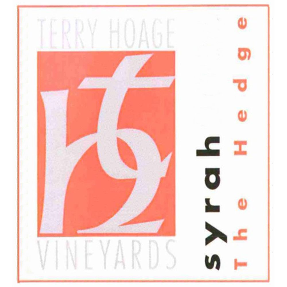 Terry Hoage The Hedge Syrah 2010 Front Label