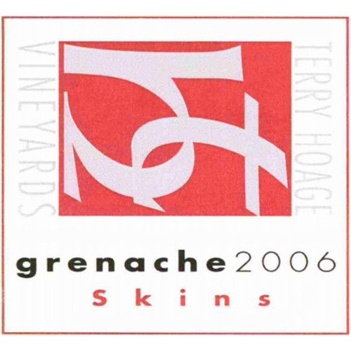 Terry Hoage Skins Grenache 2006 Front Label