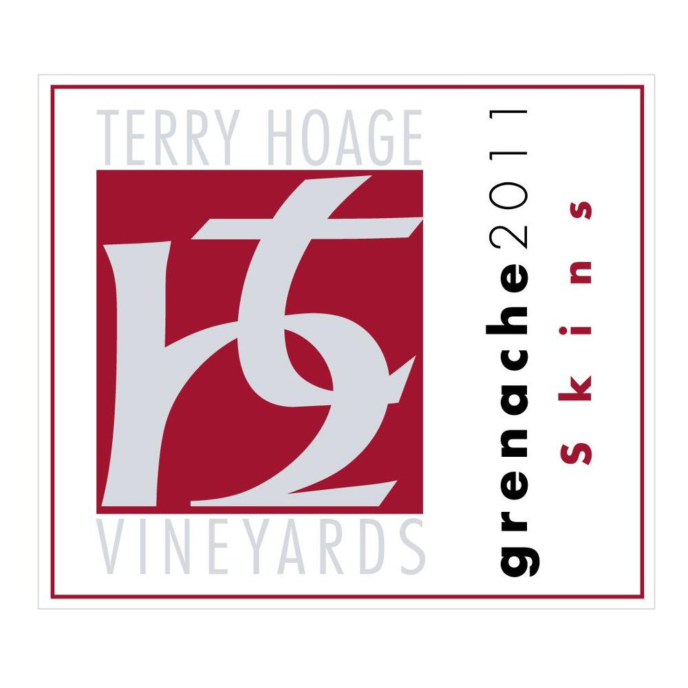 Terry Hoage Skins Grenache 2011 Front Label