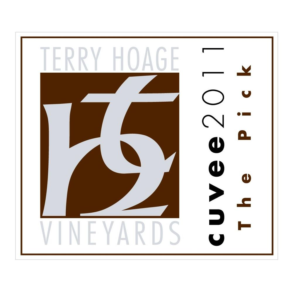 Terry Hoage The Pick Cuvee 2011 Front Label
