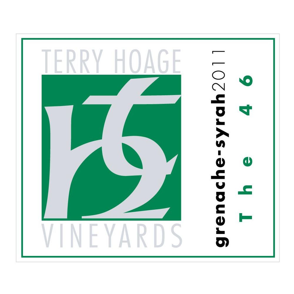 Terry Hoage The 46 Grenache - Syrah 2011 Front Label