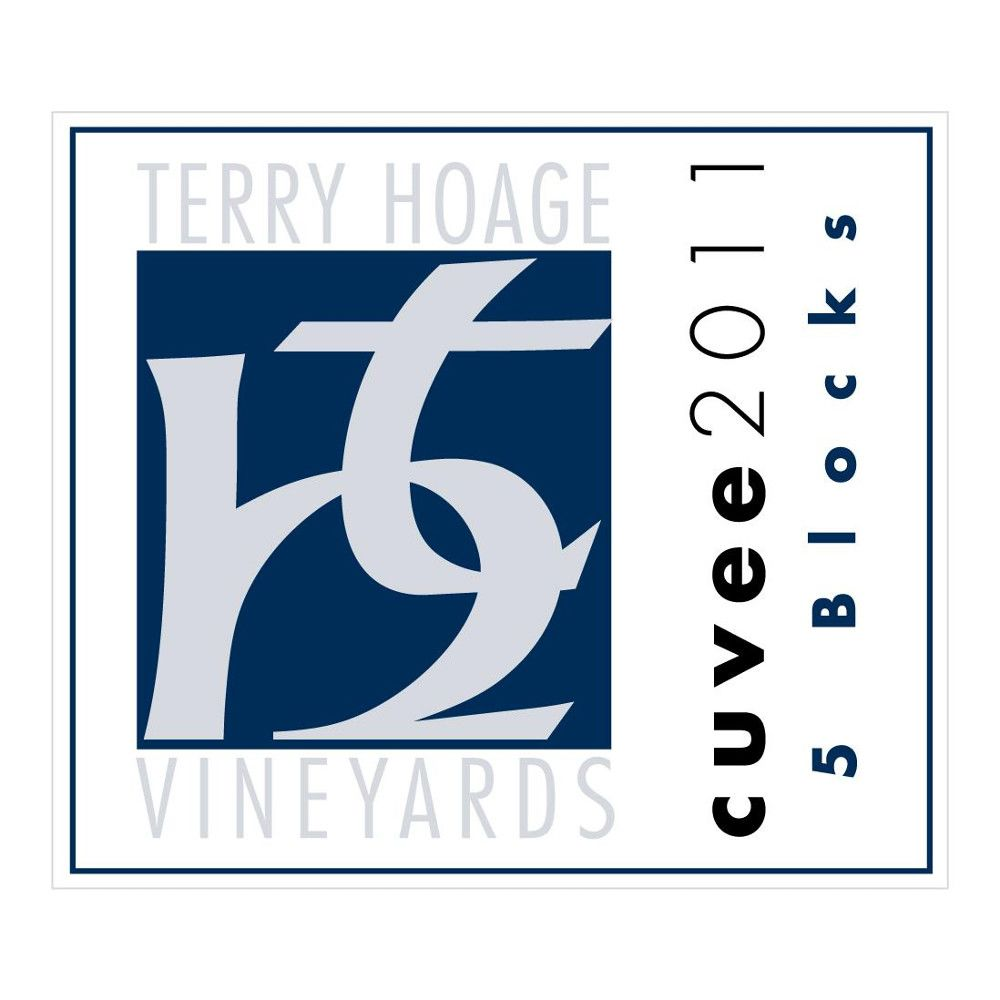 Terry Hoage 5 Blocks Cuvee 2011 Front Label