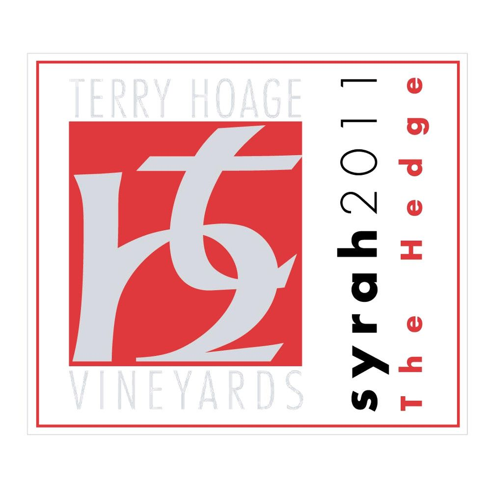 Terry Hoage The Hedge Syrah 2011 Front Label