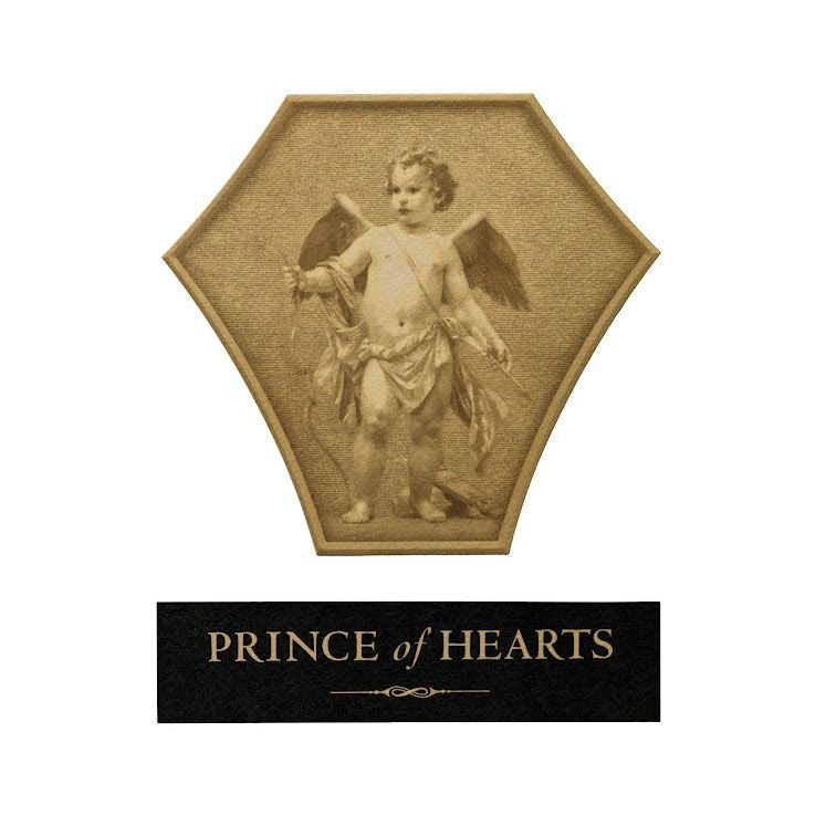 Blankiet Prince of Hearts Proprietary Red 2010 Front Label