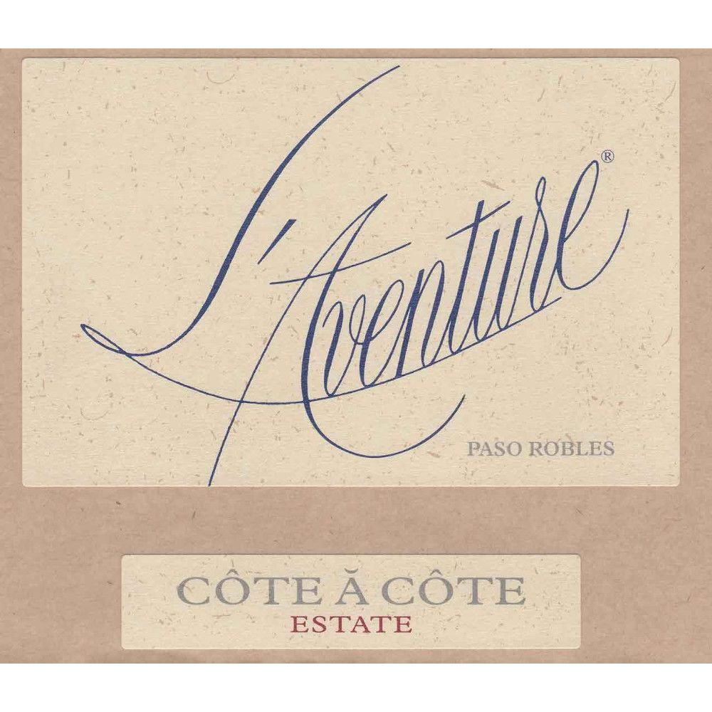 L'Aventure Cote A Cote (slightly stained labels) 2012 Front Label