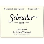 Schrader RBS To Kalon Vineyard Cabernet Sauvignon 2003 Front Label