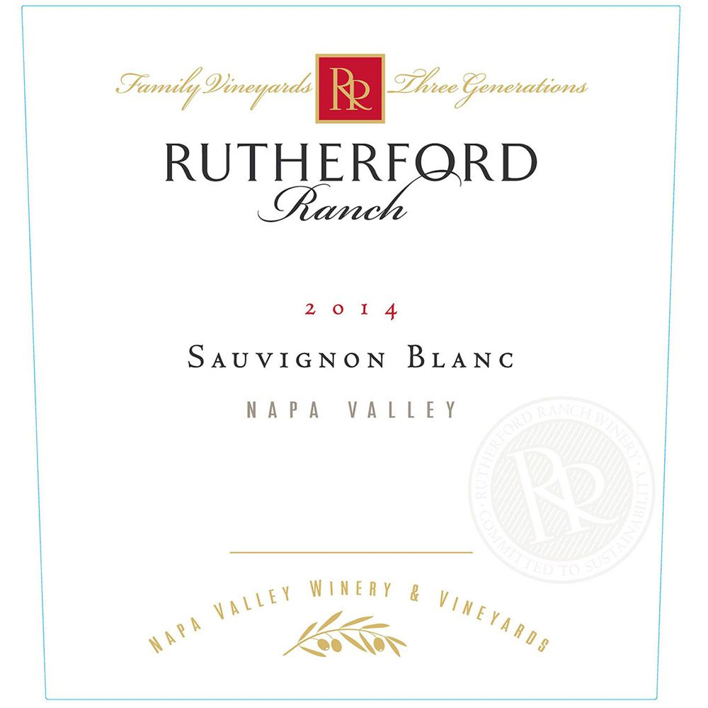 Rutherford Ranch Sauvignon Blanc 2014 Front Label