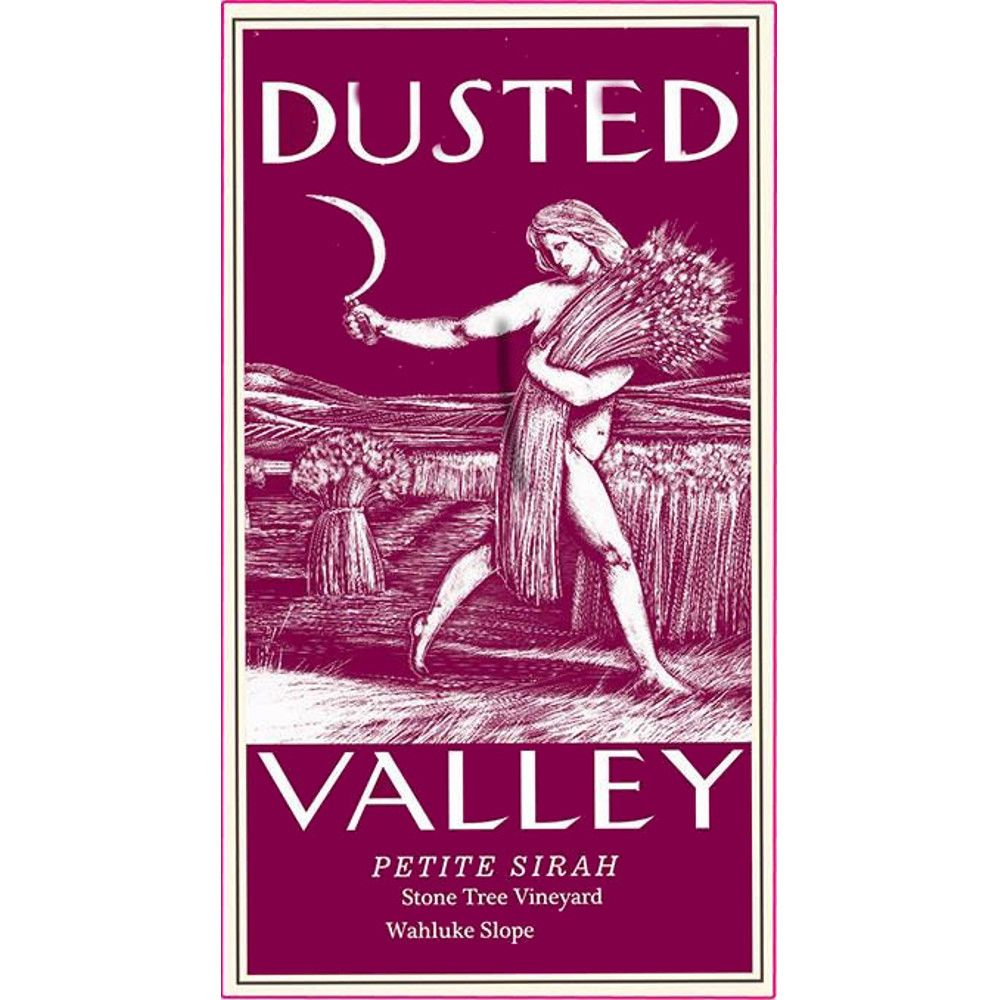 Dusted Valley Wahluke Slope Petite Sirah 2012 Front Label