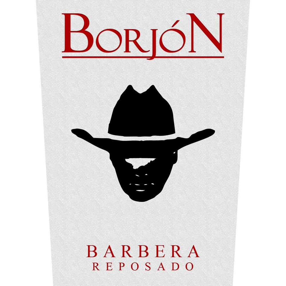 Borjon Barbera Reposado 2013 Front Label