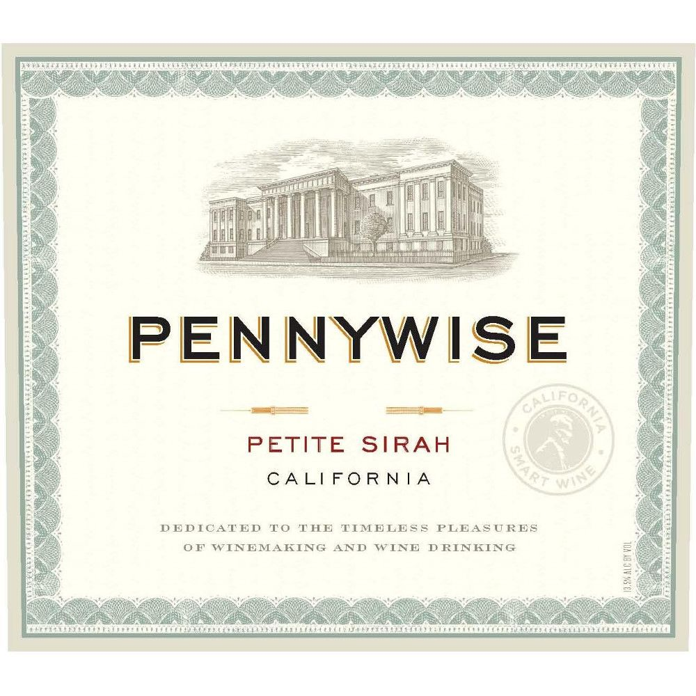 Pennywise Petite Sirah 2013 Front Label